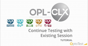 Continue Testing with Existing Session_CLX tutorial video image