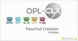 4 Pass Fail Creation Tutorial CLX