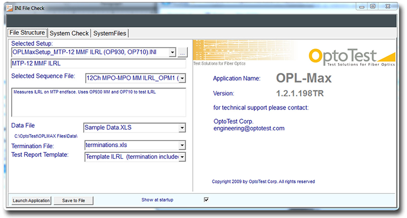 Figure 1: OPL-Max splash screen