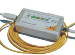 Figure 5: OP510 Optical Power Meter with bargraph display.