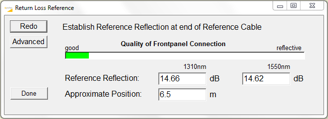 Figure 6: OPL-PRO 930 RL reference pop-up.