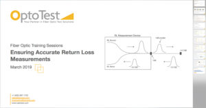 Ensuring Accurate Return Loss Measurements presentation image