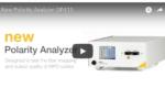 polarity analyzer video image