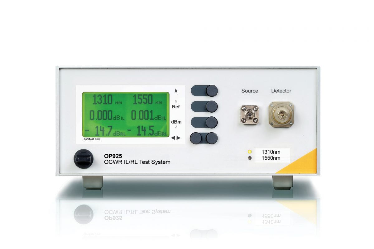 OP925 Continuous Wave RL and IL Meter