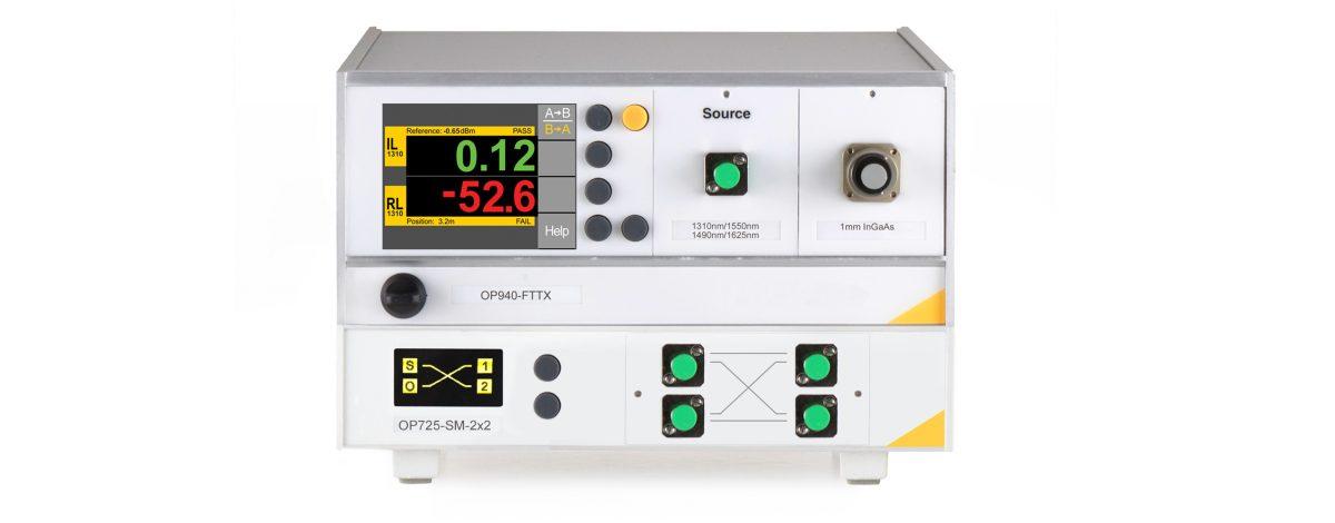 OP940-OP725 BiDirectional Optical Return Loss Meter