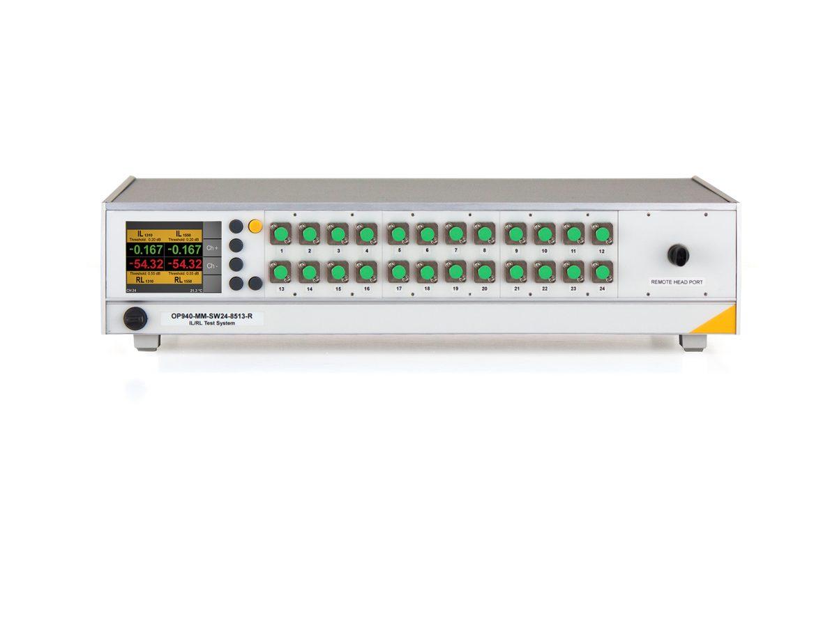 OP940 Multichannel Insertion Loss Return Loss Meter image
