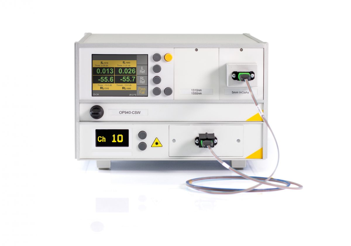 Dedicated MPO Tester for Insertion Loss and Return Loss OP940-CSW
