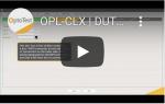 OPL CLX DUT Creation MPO to LC fanout DUT
