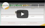 OPL CLX DUT Creatiotion MPO to MPO patch cord DUT