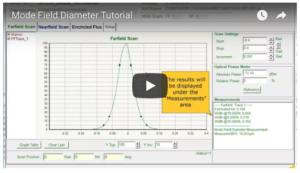 mode field diameter tutorial video image