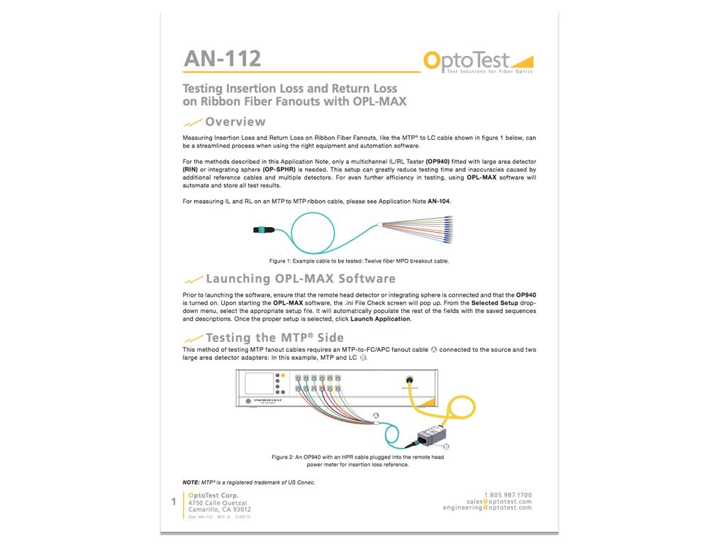 OptoTestAN112