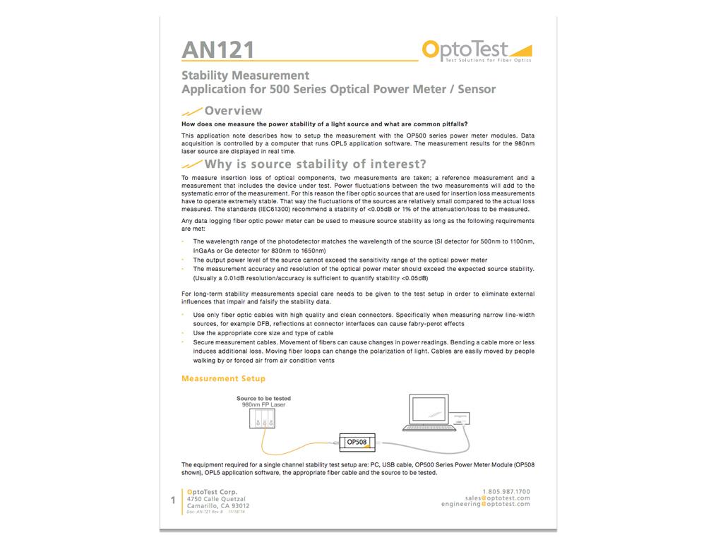 OptoTestAN121