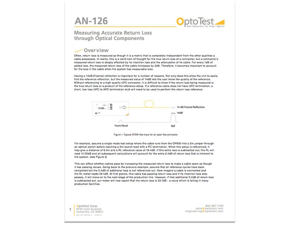 OptoTestAN126