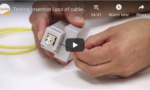 Duplex LC Adapter – Testing Insertion Loss of cables terminated with Unibody LCs and LC connectors tutorial video image