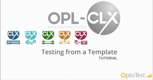 Testing from a Template Tutorial